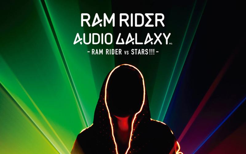 RAM RIDER 7年振りのNew album2枚同時 Release