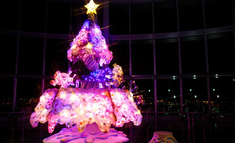 増田セバスチャン初の大型クリスマスイルミネーション作品完成