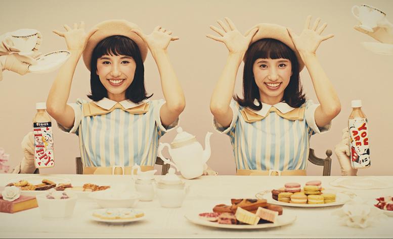 KIRIN「午後の紅茶」のWEB CMに谷奥えま・えりが出演