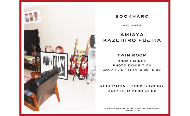 写真家・藤田一浩が撮影したAMIAYAの写真集が完成、BOOKMARCで写真展を開催