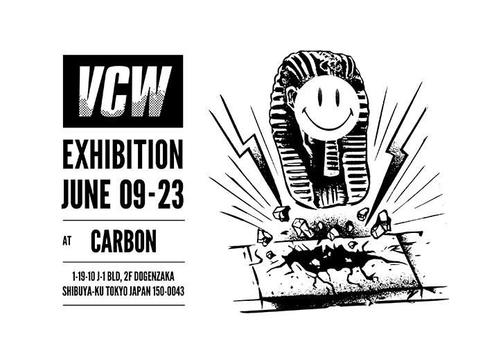 ストリートシーンで注目される「VCW」によるエキシビジョンが渋谷・CARBONで開催
