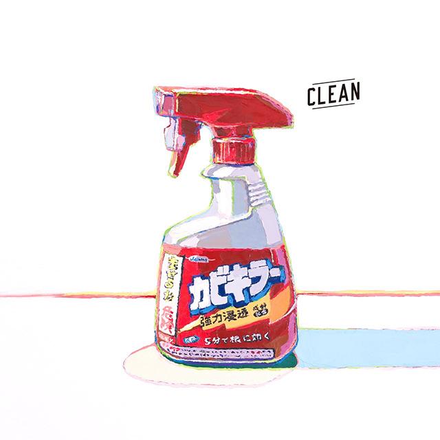 身近な物を油絵で描く画家・松永健志の個展「CLEAN」がCARBON COFFEEで開催