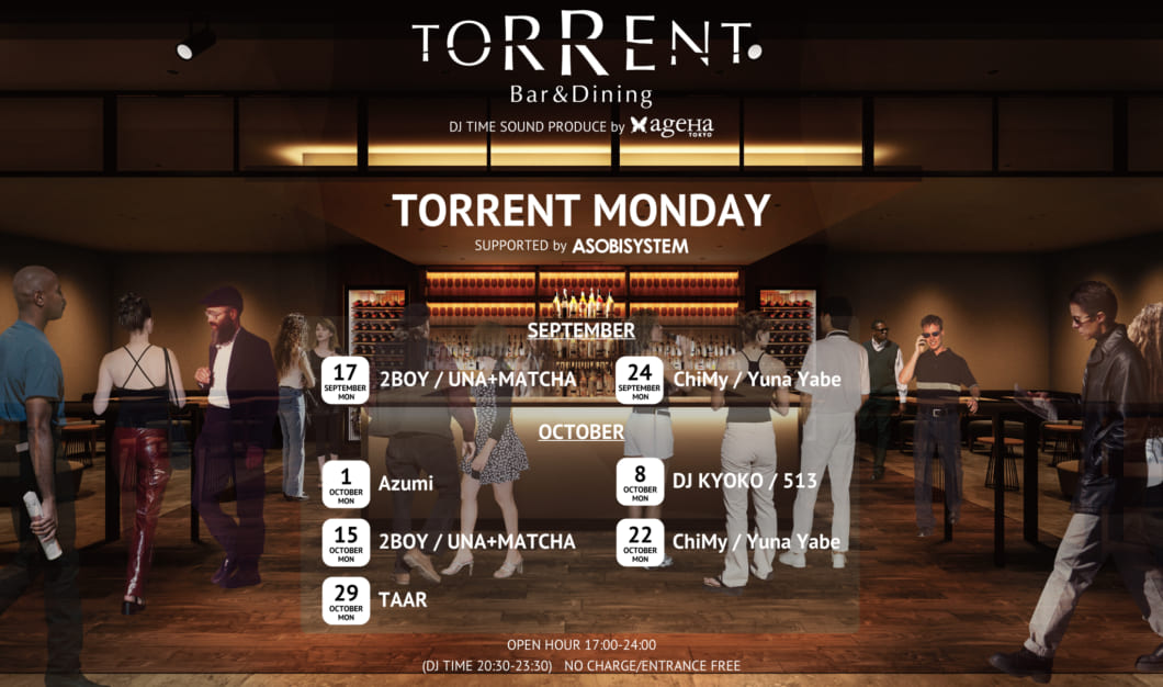 TORRENT MONDAY SUPPORTED BY ASOBISYSTEM