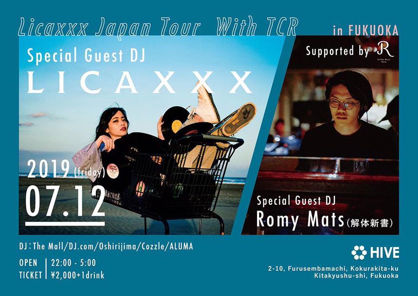 Licaxxx Japan Tour With TCR 福岡