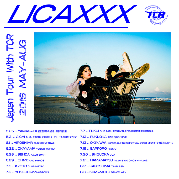 Licaxxx Japan Tour With TCR 仙台