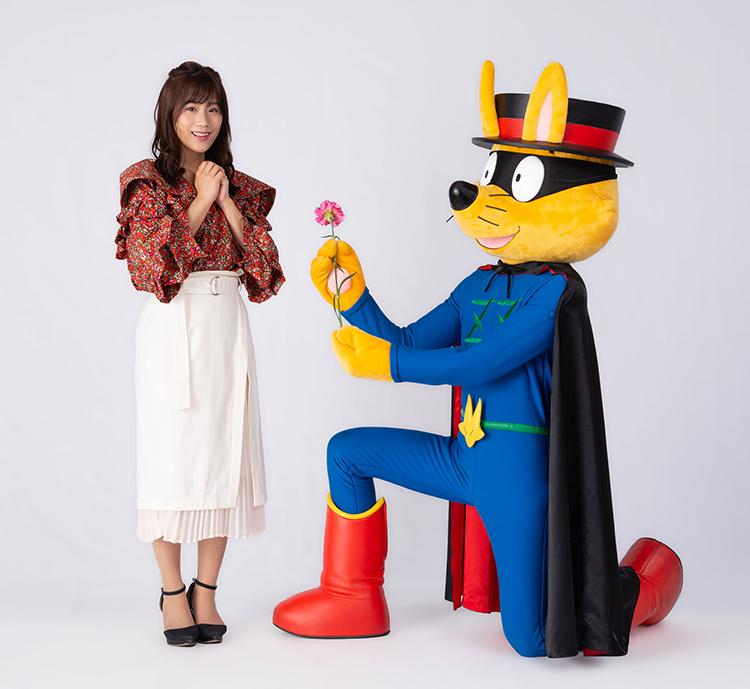 舞台「かいけつゾロリとなぞのスパイ・ローズ」安城公演【秋山ゆずき】