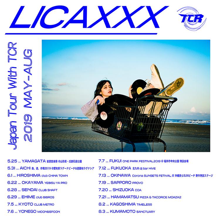Licaxxx Japan Tour with TCR 鹿児島
