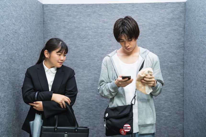 ドラマ「妄想エレベーター」第1話に宇佐卓真がイケメン役で出演
