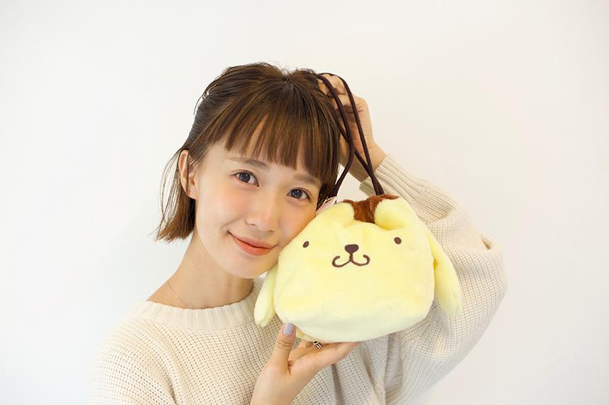 「ポムポムプリン」と柴田紗希のコラボアイテムが発売