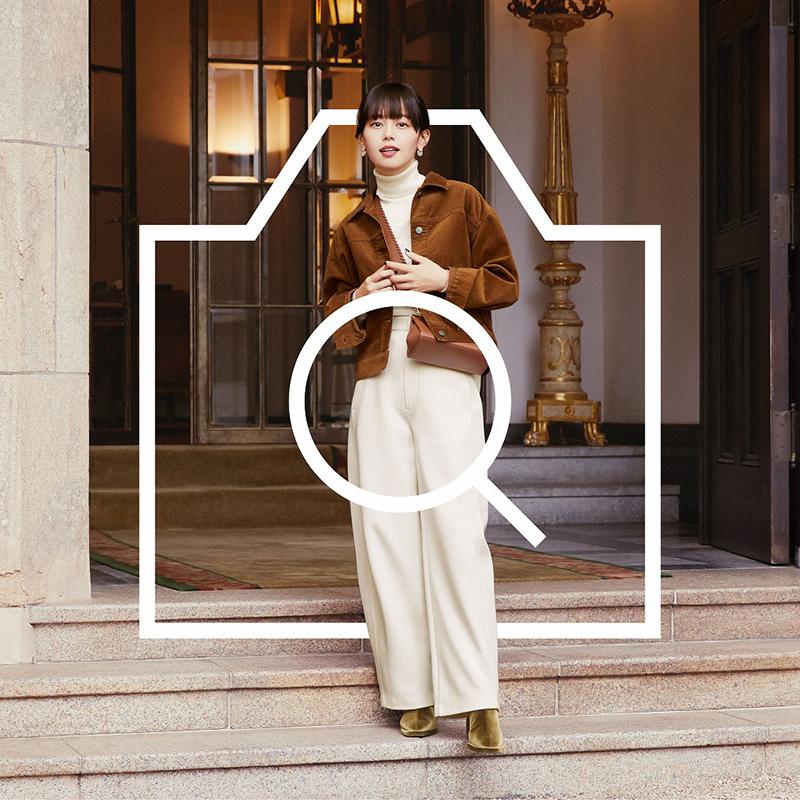 ユニクロの着こなし発見アプリ「StyleHint」の広告に青柳文子が起用