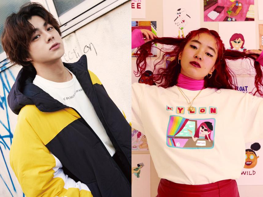 NYLON JAPAN 15周年コラボ、宇佐卓真とChiMyのコラボTシャツが発売