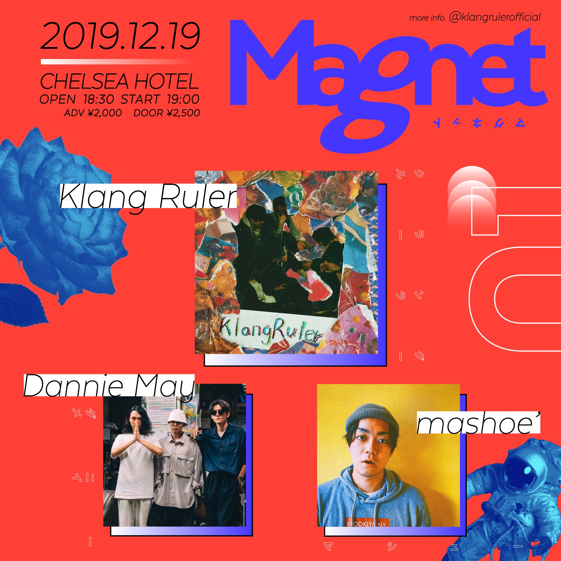 Klang Ruler初プロデュースイベント「Magnet」