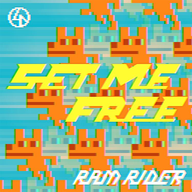 RAM RIDER、新曲「SET ME FREE」配信開始! ビジュアルはGIF作家・服部グラフィクスが担当
