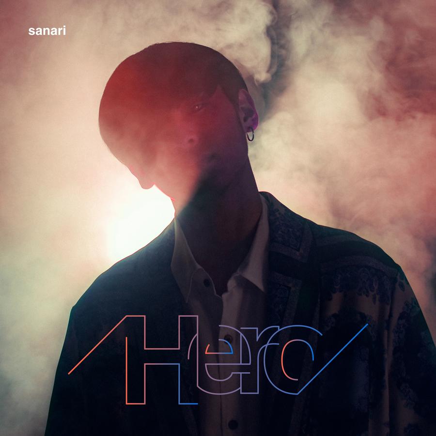 さなりニューシングル「Hero」のジャケットを制作