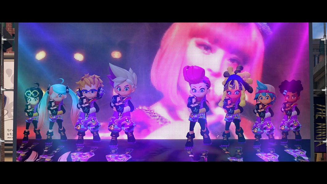 きゃりーぱみゅぱみゅ、Nintendo Switch™️「ニンジャラ」とのマッシュアップビデオが公開