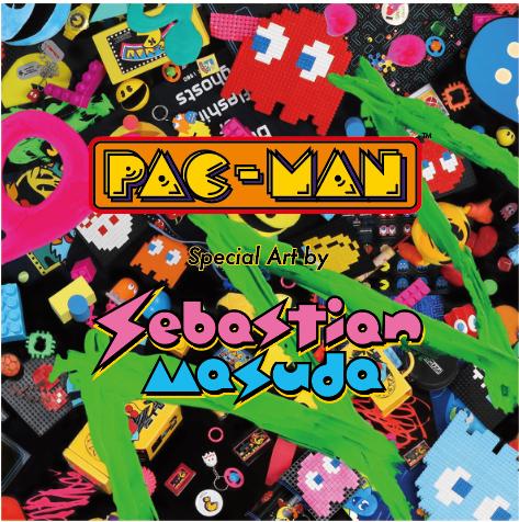 「パックマン」生誕40周年で増田セバスチャンとコラボレーション