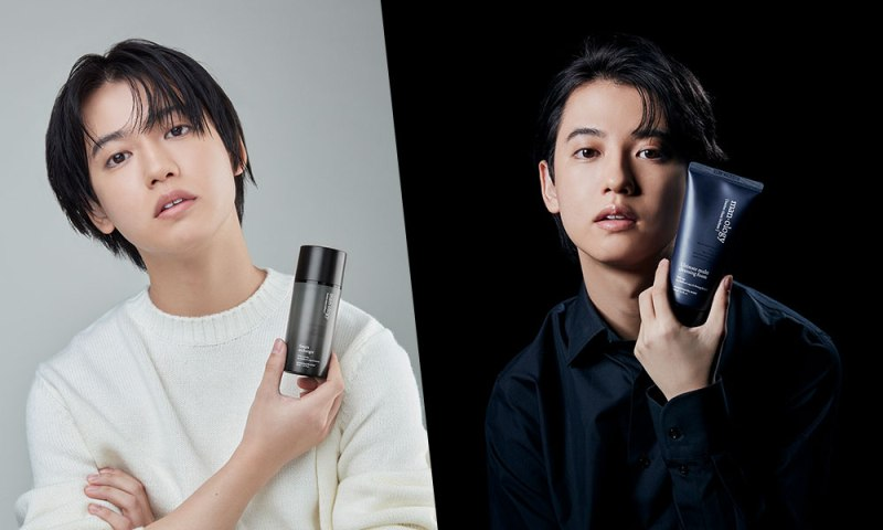ゆうたろうが韓国発のメンズスキンケアブランド「belif メノロジー」のイメージモデルに起用