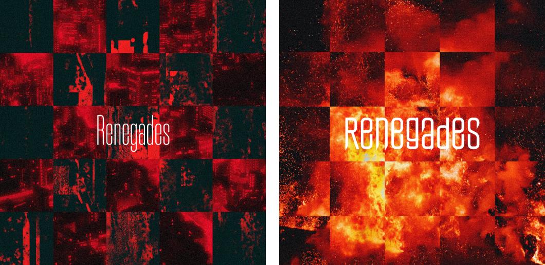 【yenter】ONE OK ROCK新曲「Renegades」のジャケットデザインを2BOY(yenter)が担当