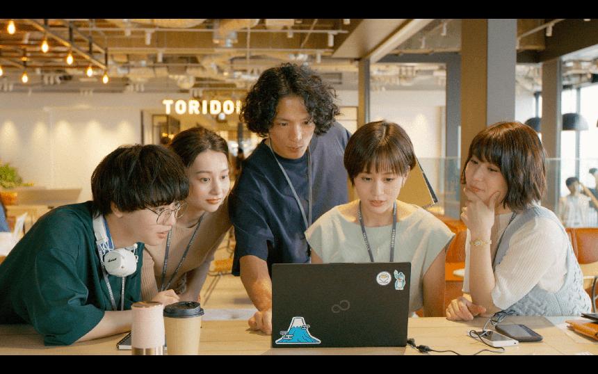 YouTubeドラマ「麺と千尋の並行世界」にゆうたろうが出演