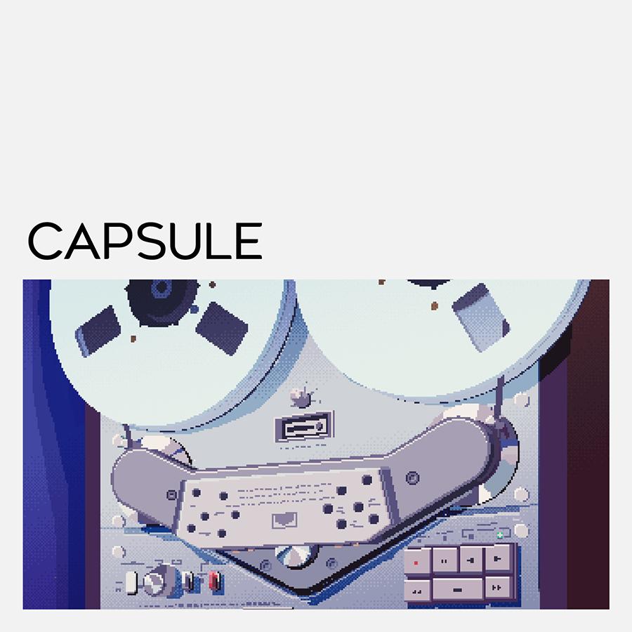CAPSULE、話題のゲーム『198X』を手掛けた「Hi-Bit Studios」と「ハチノヨン」によるビジュアライザー映像を公開! 過去作品のリマスター音源配信も決定