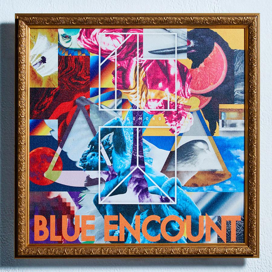 【yenter】BLUE ENCOUNT「囮囚」のジャケットを制作