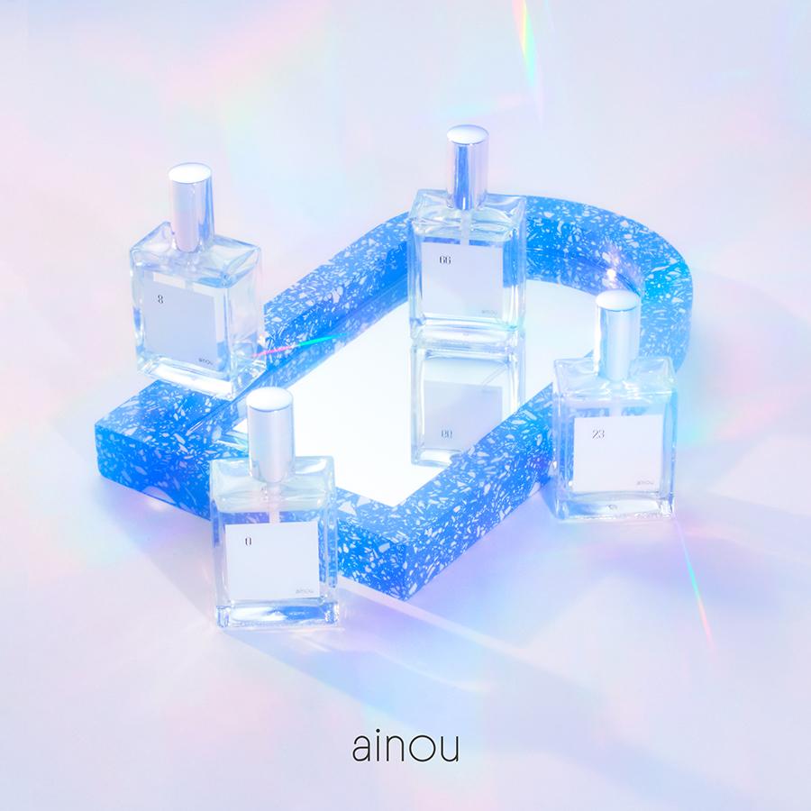 香りの新ブランド「ainou」誕生。タレント4名がプロデュースするフレグランスが発売